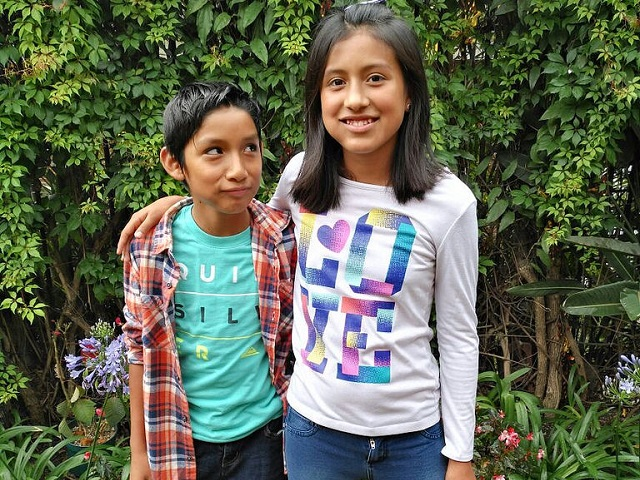Kids at Dorie's Promise Guatemala