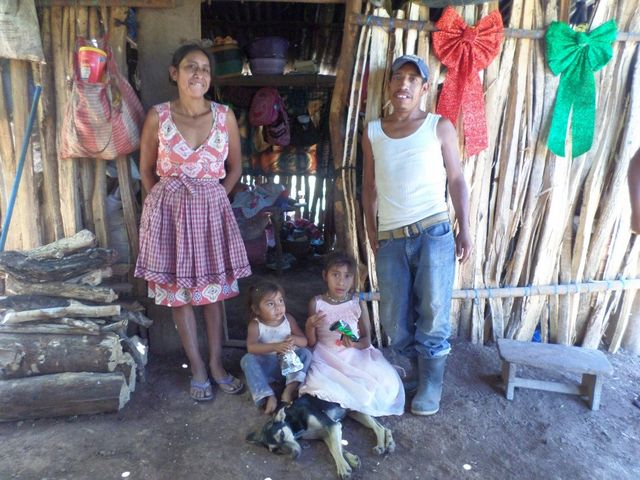Guatemala Family is Helpd