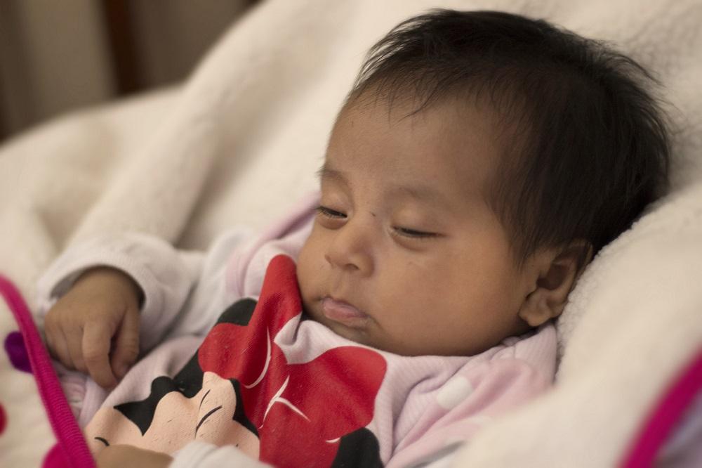 Baby Ana Sophia at Dorie's Promise