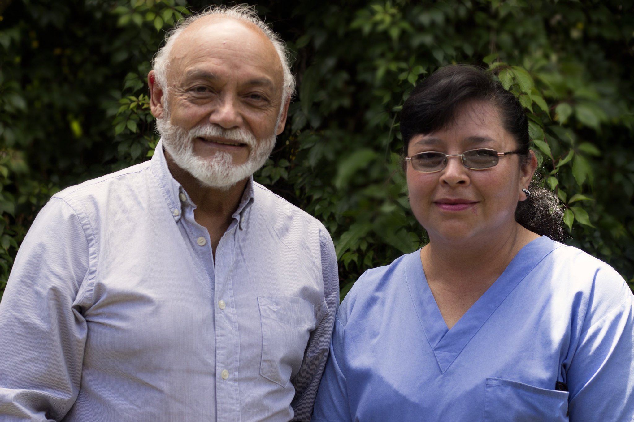 Doctor Castro and Mirna
