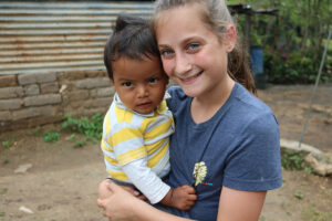 Visiting the underprivileged villages of Guatemala.