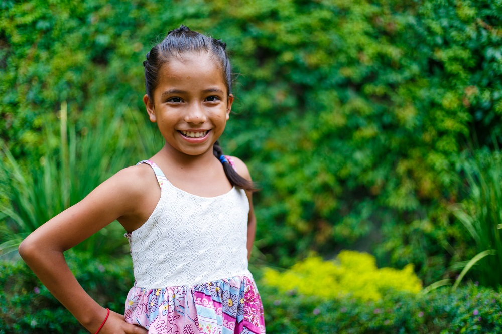 Thanks to a personalized education Monica is now thriving.