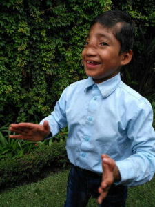 Miguel always loved to dance.