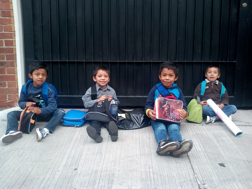 Children from Dories' Promise ready for school