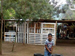 A small village outside Guatemala City