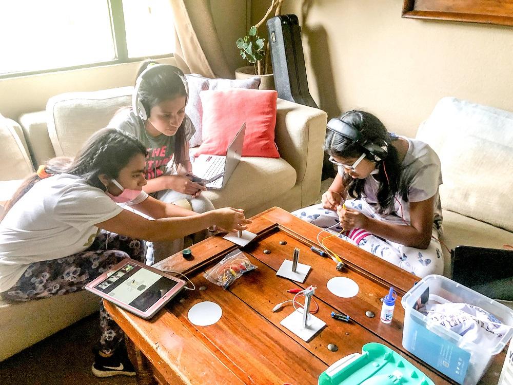 Our Girls Go to STEM School