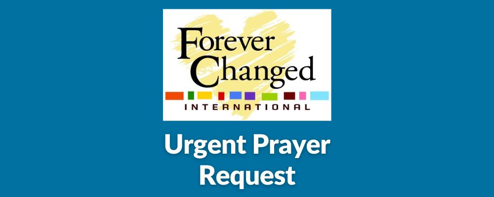 Urgent Prayer Request from Dorie's Promise
