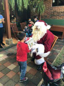 Santa at Dorie's Promise for Christmas!