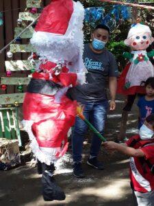 Christmas Party at San Nicolas Guatemala