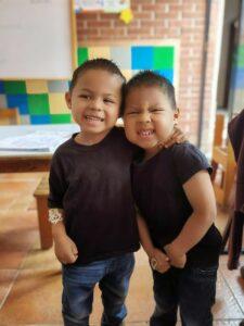 Toddler boys at Dorie's Promise
