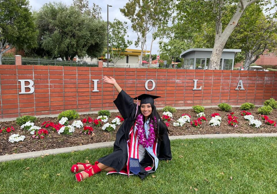 Celebrate Nallely Lux's College Graduation With Us