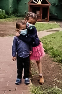 Estela and her brother