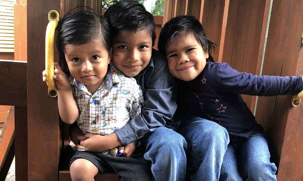 Welcome Dereck, Suleika, and Edgar to Dorie's Promise